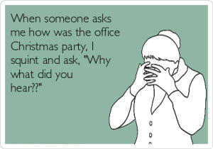 office christmas party meme