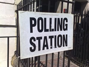 general election polling station