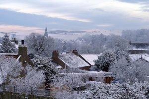 selling your home - winter scene